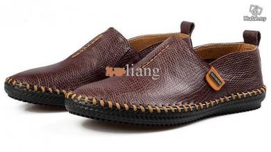 Cow Leather Breathable Soft Slip Shoes england