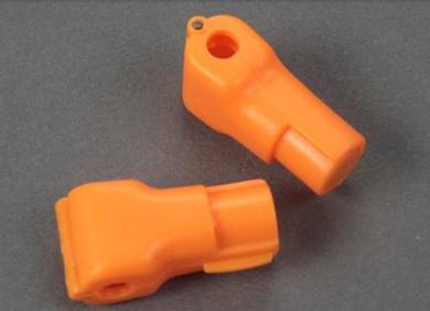 Orange Anti-Theft Security Stop Lock - 6mm