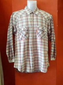 Vintage Great Britain Western shirt -M-