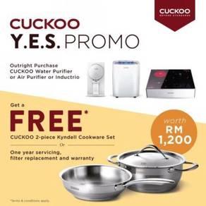Penapis Air Cuckoo - Beli cash DAPAT Free Gift