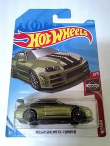 Hot Wheels - NISSAN SKYLINE GT-R (BNR34)
