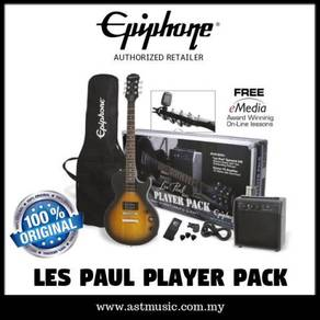 Les paul player pack sunburst epiphone