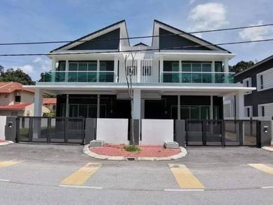 FREEHOLD Free Lawyer Fees 34x65 Semi D House in Gunung Lang, Tasek