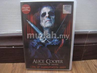 CD Alice Cooper Live DVD/CD