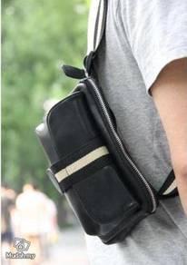 BG04 Multi-purpose Pouch Chest Waist Bag (Black)