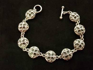 Genuine 925 silver 925 bracelet 2200049 40.00grams