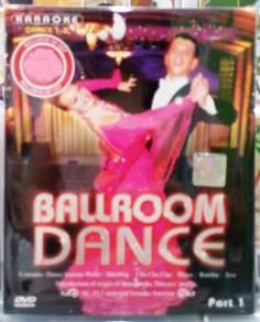 DVD Ballroom Dance Karaoke Dance Part 1 (3DVD)