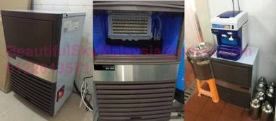 30KG Ice Maker Machine Mesin Ais Ketul Besar 5x12