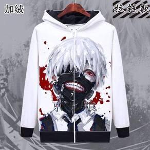 Tokyo ghoul kineki sweater jacket long sleeve