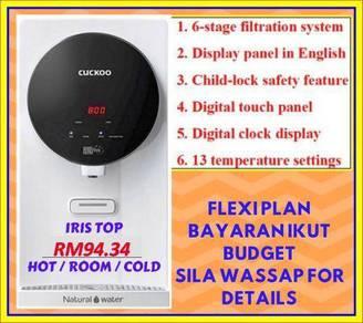 Penapis Air Cuckoo Dgn 13 temperature settings