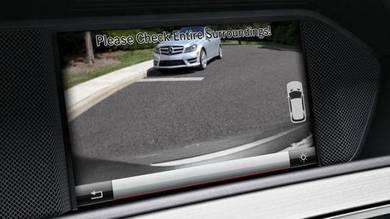 Mercedes benz install rear camera system