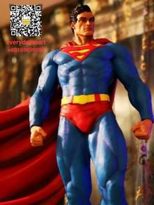 Dc comics superman batman:hush mafex