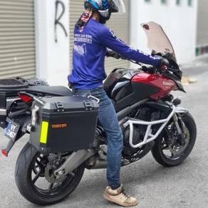Sidebox Pannier box Kawasaki Versys 650 36 liter