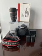 Canon EOS 5D Mark IV camera (Body and Lens 24-105m