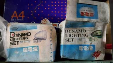 Dynamo lighting set lampu basikal dinamo