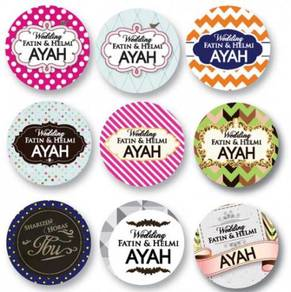 Button badges senawang