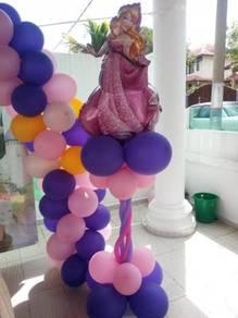 Dark purple light pink- Princess Concept