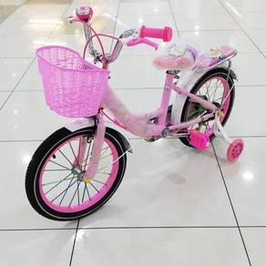 Basikal untuk kanak-kanak jb pink