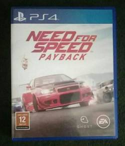 PS4 Game = Need For Speed ( PayBack )