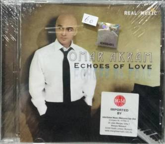 CD Omar Akram Echoes of Love CD (Imported)