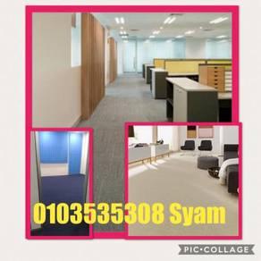 Pasangsiap karpet pejabat / carpet MASJID /98KI