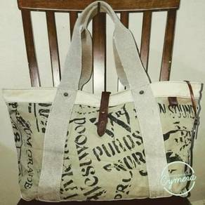 Tote Bag Canvas Fabric Vivienne Westwood Man