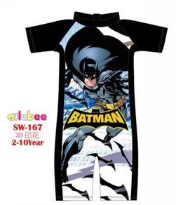 Baju renang swimsuit SW167 BATMAN