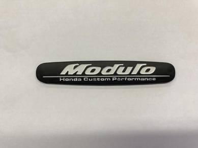 Honda modulo logo emblem honda racing black