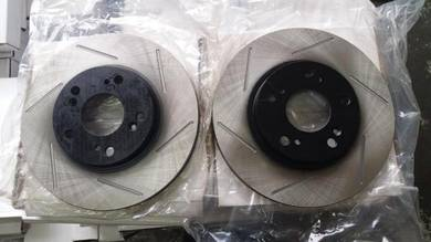 Civic FD FD1 FD2 slotted disc rotor oem