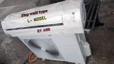 Aircond wall mounted type 2hp( 1b)