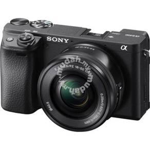 Ready Stock New Sony A6400 Kit 16-50mm (Black)
