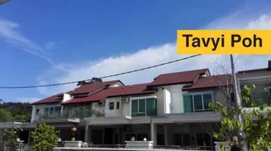 Double Storey Terrace Prestige V Batu Maung