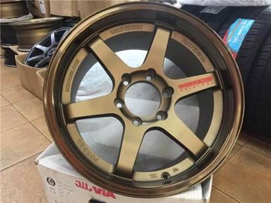 Sport Rim 4X4 Rays Volk TE37 18 Inch Thai Spec