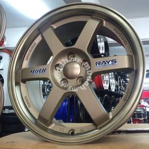 Sport rim VOLK RACING TE37 CUTTING ORIGINAL 17