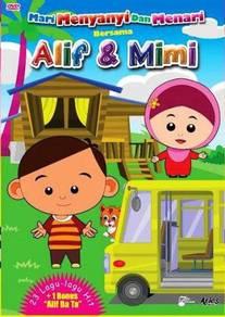 DVD ALIF Dan MIMI Mari Menanyi Dan Menari