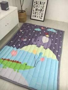 Baby crawl mat soft mat karpet kanak kanak
