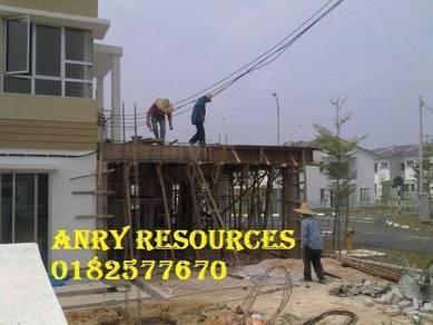 Landskap rumah dan bina