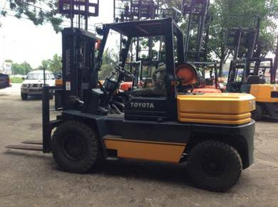 JAPAN DIRECT Imported TOYOTA 4.5 ton Forklift