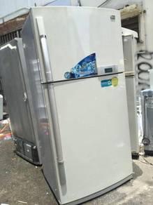 LG Big Refrigerator 2 doors Fridge Peti Sejuk Ais
