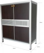Aluminium Shoes Cabinet Rack (3)
