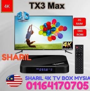 SUPER LIVE TX3+ NEW 2GB+32GB android tv box