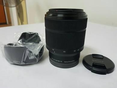 Sony FE 28-70 kit Lens for all a7 camera 16mm 2.8