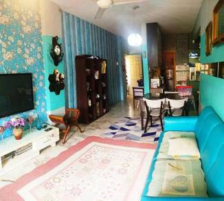 [FULLY FURNISH] 2nd Floor: Astana Alam 2 Apt BLOK BAIDURI Puncak Alam