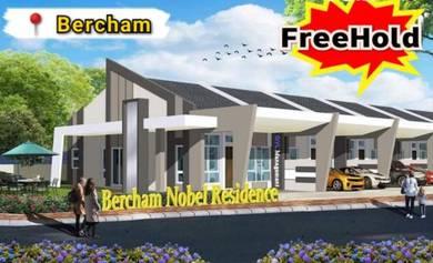 Rumah Teres 【Freehold】Bercham Area