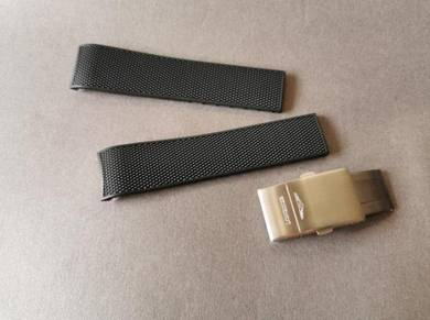 LONGINES 21mm HYDROCONQUEST Rubber Watch Strap