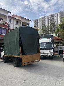 Lori sewa pindah pejabat lembah Klang