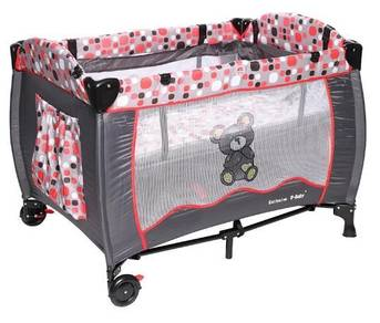 Baby playpen double layer with travel bag - ubaby