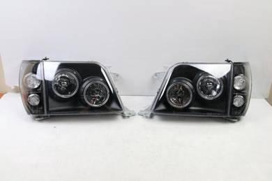 Toyota Land Cruiser Prado 90 Series Halo Headlight