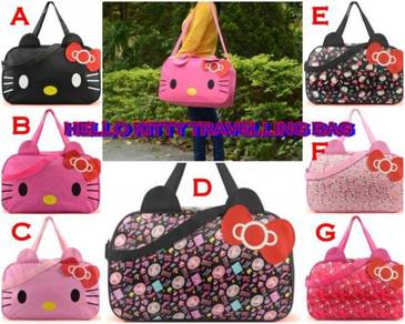 [READY STOCK] Cute Hello Kitty Travelling bag -3