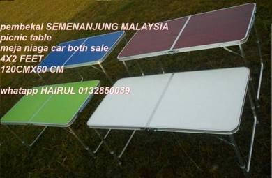 Meja lipat 120x60 feet baru dalam kotak september